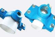 Colliers de prise en charge pour tuyaux PVC/PEHD, fonte et AC
